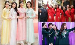 Dàn phù dâu toàn cực phẩm 'nhìn là muốn cưới ngay về' trong đám cưới sao Việt