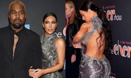 Diện đầm dạ hội gợi cảm bên chồng Kanye West, Kim Kardashian bất ngờ lộ nửa ngực trên thảm đỏ