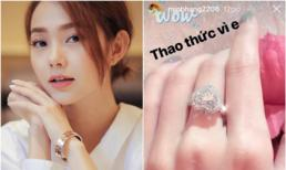 Không cần đoán già đoán non, Minh Hằng chính thức lên tiếng về chiếc nhẫn kim cương gây sốc