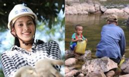 Dự án 'Nước sạch về bản' thế nào mà đưa Tiểu Vy vào thẳng Top 30 Miss World 2018?