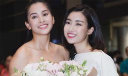 Hoa hậu Đỗ Mỹ Linh, Á hậu Phương Nga và người hâm mộ đón Tiểu Vy trở về từ Miss World