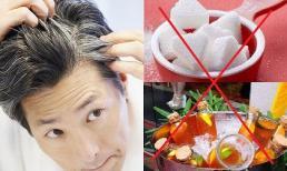 Đầu ngày càng mọc nhiều tóc trắng hóa ra là do 3 thứ này, tốt nhất nên ăn ít lại