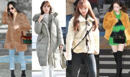 Trời lạnh đừng bỏ lỡ những công thức lên đồ 'thần thánh' của Taeyeon, Seo Hyun Jin
