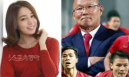 Bà xã Lee Byung Hun nhắc đến đội tuyển Việt Nam và cổ vũ huấn luyện viên Park Hang Seo trước trận chung kết