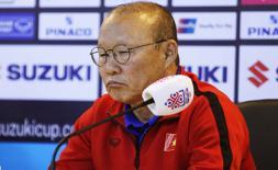 """HLV Park Hang Seo: """"Hy vọng ĐT Việt Nam sẽ chạm tay vào chức vô địch AFF Cup"""""""