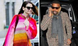 """Được gỡ lệnh """"cấm yêu"""", Katie Holmes chơi trội khi diện áo 7 màu đi ăn mừng sinh nhật với người tình"""