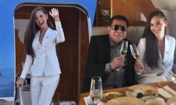 Tỷ phú Philippines dành hẳn phi cơ riêng để đón tân Hoa hậu Hoàn vũ về nước
