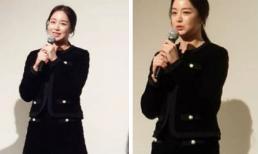 """Kim Tae Hee lộ rõ vẻ lão hóa sau 1 thời gian làm mẹ """"bỉm sữa"""""""