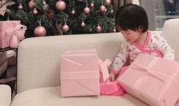 Sau 9 tháng, Đặng Thu Thảo khoe ảnh con gái cưng lớn thế này