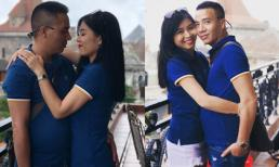 MC Hoàng Linh 'hâm nóng' tình cảm cùng chồng trong chuyến du lịch Bà Nà