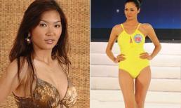"""2 người đẹp Việt vướng tai tiếng khi liều lĩnh thi chui """"Hoa hậu Hoàn vũ"""""""