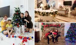 'Đọ' không gian đón Noel hoành tráng trong các biệt thự triệu đô của sao Việt