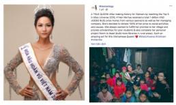 Hoa hậu H'Hen Niê khoe kỳ tích thực sự sau khi rời Miss Universe 2018