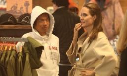"""Angelina Jolie vui vẻ """"hẹn hò"""" con trai nuôi gốc Việt sau khi tố Brad Pitt chưa từng muốn nhận nuôi cậu bé"""
