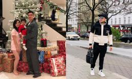Bà xã và con trai tự đón Giáng sinh trong biệt thự triệu đô, Đan Trường ở đâu?