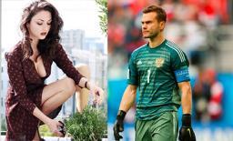 Ngất ngây với vẻ đẹp của bà xã tuyển thủ Nga