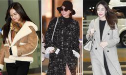 Ngắm thời trang sân bay của các idol Hàn, bạn sẽ học được cách lên đồ 'chất ngất' ngày lạnh