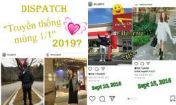 Truyền thống của Dispatch là 'khui' tin hẹn hò vào ngày 1/1, fan háo hức dự đoán năm nay cặp đôi 'Thư ký Kim' sẽ dính đòn
