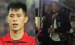 Ngoài Lâm Tây, tuyển Việt Nam còn sở hữu một giọng hát ấn tượng mang tên Trọng 'ỉn'
