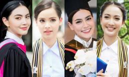 26 tuổi mới tốt nghiệp Đại học, 'ma nữ' Mai Davika diện áo cử nhân đẹp chẳng kém loạt mỹ nhân này
