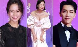 Thảm đỏ SBS Entertainment Awards: Jeon So Min khoe dáng gợi cảm, Seung Gi cực bảnh bao