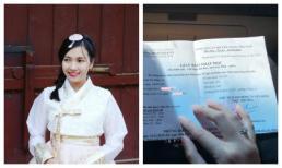 Cô gái được cho là vợ sắp cưới của Đinh Tiến Đạt lại gây chú ý với nhẫn kim cương ngón áp út