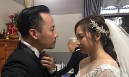 Phương Thanh chia sẻ ảnh đón dâu của Đinh Tiến Đạt, cô dâu trẻ lộ vòng hai 'bất thường'
