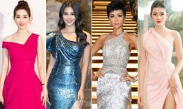 Đương kim Hoa hậu Việt Nam và Hoa hậu Hoàn vũ xứng danh 'Nữ hoàng thảm đỏ' với đầm sequin (P104)