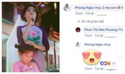 Dành tình cảm và sự quan tâm cho mẹ con Mai Phương, Phùng Ngọc Huy gây xúc động cư dân mạng