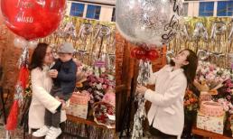 Ly Kute đăng ảnh đón sinh nhật nhưng bé Khoai Tây mới là người gây chú ý vì điều này