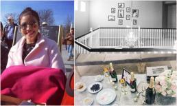 Đăng ảnh lên Instagram, Phạm Hương vô tình tiết lộ không gian căn nhà tại Mỹ
