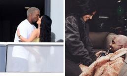 """Sắp đón con thứ 4 chào đời, vợ chồng Kim Kardashian có màn ăn mừng """"nóng bỏng"""" tại căn hộ 14 triệu đô"""