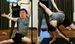 Tô Hữu Bằng bị cư dân mạng chế ảnh siêu hài khi đăng hình tập yoga dẻo dai hơn phụ nữ