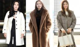 Mỹ nhân Hàn 'hâm nóng' sân bay ngày lạnh với gu thời trang chất lừ, ai nhìn cũng ngất ngây