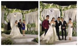 Hari Won, Cao Thái Sơn đến chúc mừng đám cưới ca sĩ MiA