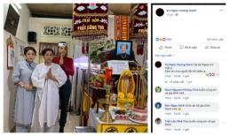 Sao Việt gửi lời chia buồn khi bà của Á hậu Hoàng Oanh qua đời