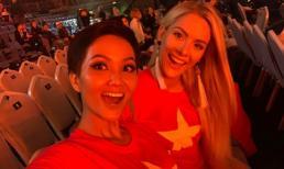 Hoa hậu Mỹ bất ngờ đăng ảnh tình cảm với H'Hen Niê sau ồn ào chê bai tiếng Anh