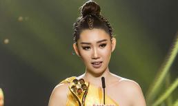 Thúy Ngân khóc nức nở trên sân khấu khi được vinh danh tại lễ trao giải Mai Vàng 2018
