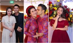 Sao Việt tấp nập tới dự đám cưới của Võ Hạ Trâm, Hòa Minzy gây chú ý với nhan sắc lạ lẫm