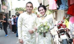 Trực tiếp đám cưới Võ Hạ Trâm: Cô dâu chú rể nổi bật với áo dài đôi