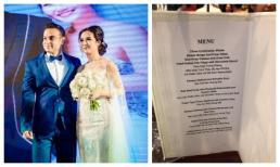 Đãi đám cưới tại nhà hàng 5 sao, thực đơn tiệc cưới của Võ Hạ Trâm và chồng Ấn Độ có gì đặc biệt?
