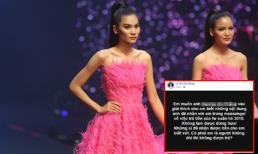 Quán quân Next Top Model 2017 Kim Dung bức xúc vì bị nợ tiền cát-xê