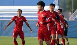 HLV Park Hang Seo làm công tác tư tưởng cho các tuyển thủ Việt Nam
