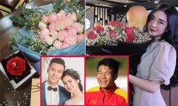 Quế Ngọc Hải, Hà Đức Chinh làm điều đặc biệt cho người phụ nữ của mình trong ngày Việt Nam vào tứ kết Asian Cup