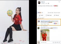Vào comment ngọt ngào, nhưng Quang Hải chỉ nhận thái độ 'bơ đẹp' từ bạn gái