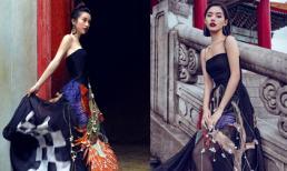 Jun Vũ, Khánh Linh và Quỳnh Anh khoe nét Á Đông sắc sảo trong pha 'đụng hàng' mới