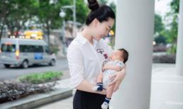 Tình cũ của Trương Nam Thành - Thùy Linh lần đầu khoe mặt con trai đầu lòng