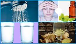 8 cách nhanh chóng để giảm đau đầu có thể áp dụng ở mọi nơi, kể cả lúc tắm