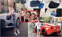 Cường Đô la đã giàu nhưng tài sản của Đàm Thu Trang cũng khiến nhiều mỹ nhân 'kiêng nể'