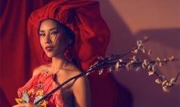Nguyễn Thị Loan đón xuân trong bộ ảnh mới đậm chất Á Đông